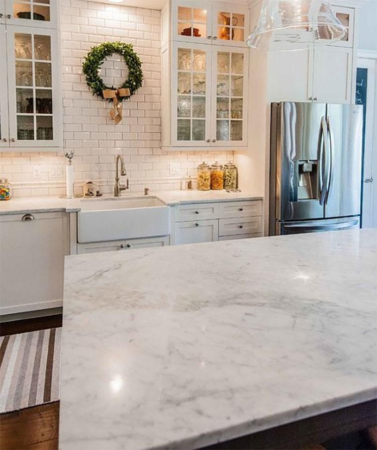 11i carrara white marble