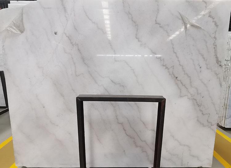 6I guangxi white marble slab